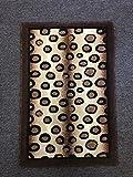 Americana Animal Print Safari Leopard Doorway Mat Area Rug Design 131 (2 Feet X 3 Feet)