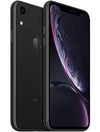 Apple iPhone XR, 64GB, Black - Fully Unlocked (Renewed)