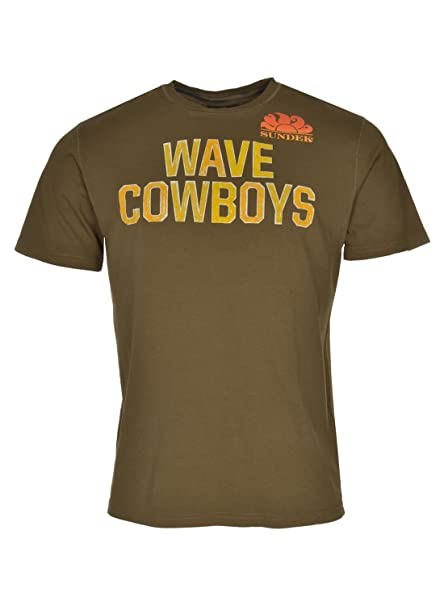 Sundek Wave Cowboys T-Shirt X-Large Very Slim Olive Special Force ... 76ea88a4c