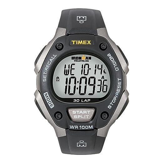 7ad5bc93a930 TIMEX IRONMAN TRIATHLON 30 LAP GREY BLACK  Timex  Amazon.es  Electrónica