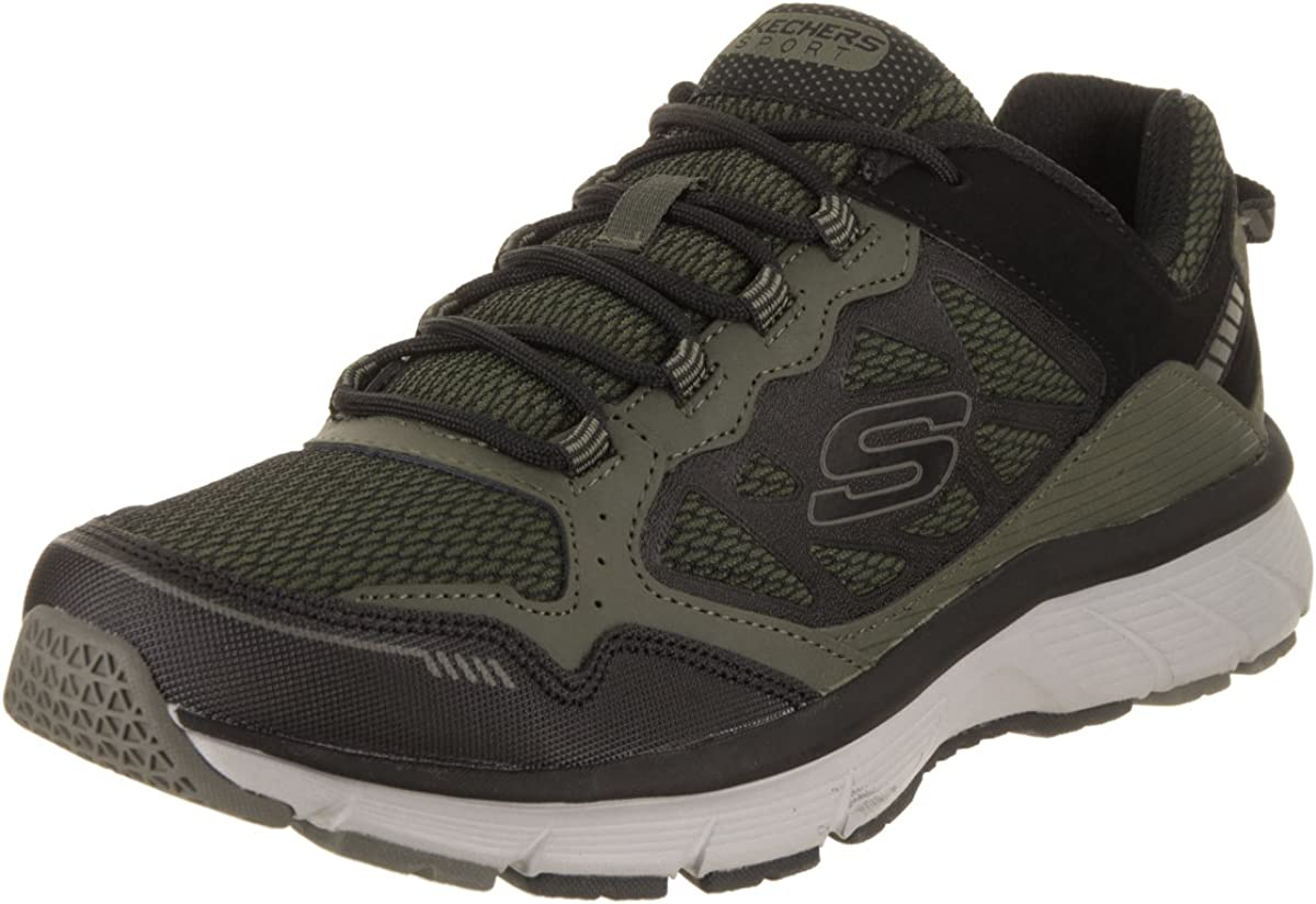 empresario uno etiqueta  Skechers Men's Bowerz Olive/Black Casual Shoe 13 Men US: Amazon.co.uk:  Shoes & Bags