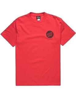 Santa Cruz Bod Boyle STAINED GLASS Skateboard T Shirt RED XL