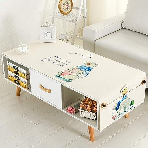 SAsagi Impreso Mantel de Lino algodón,Mesa Moderna Simple Cubierta ...