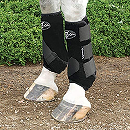 Professionals Choice Equine Neoprene Sports Medicine Leg Boot, Pair (Medium, - Choice Medicine Sports