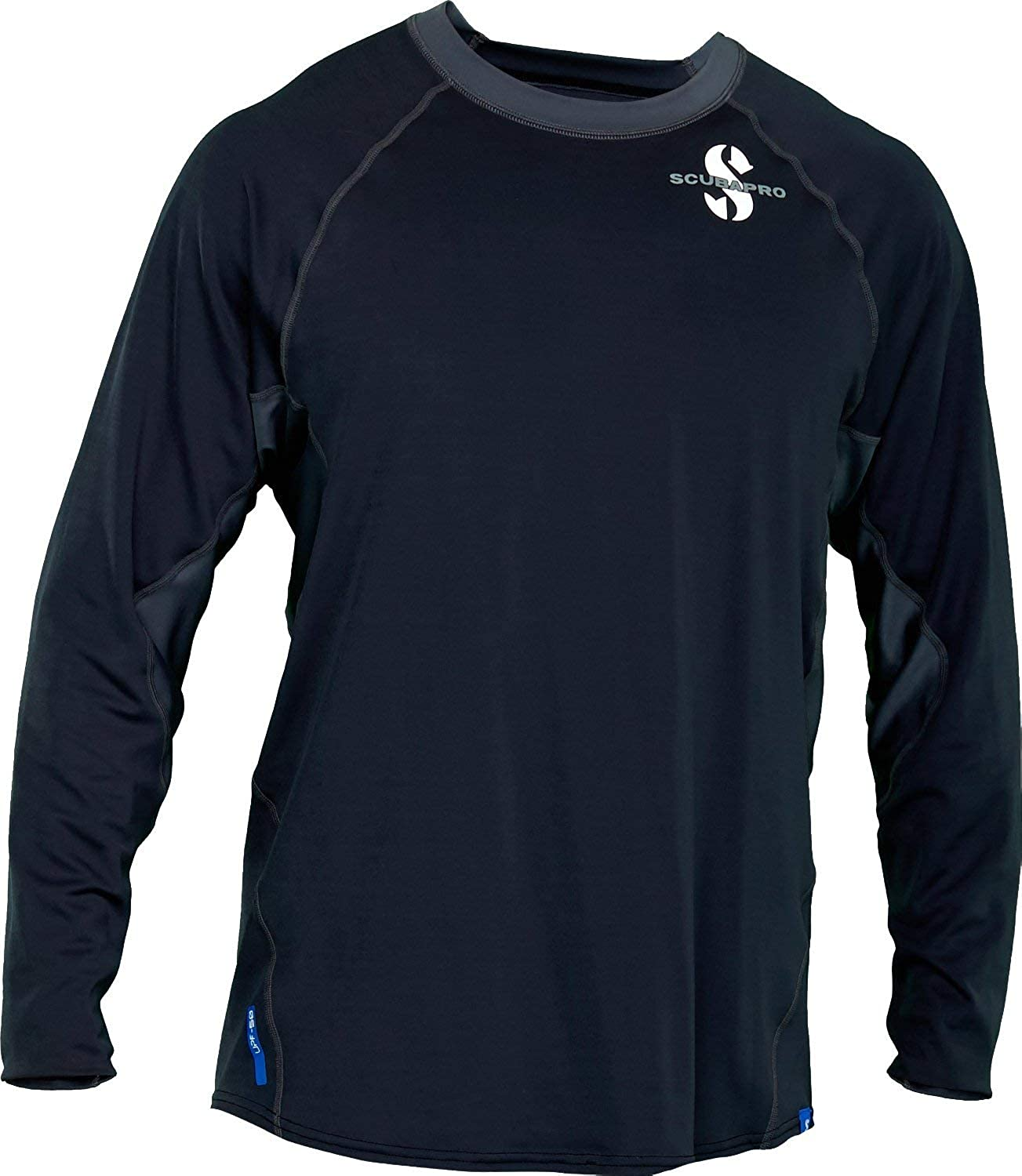Scubapro Men's UPF 50 Channel Flow Long Sleeve Rash Guard