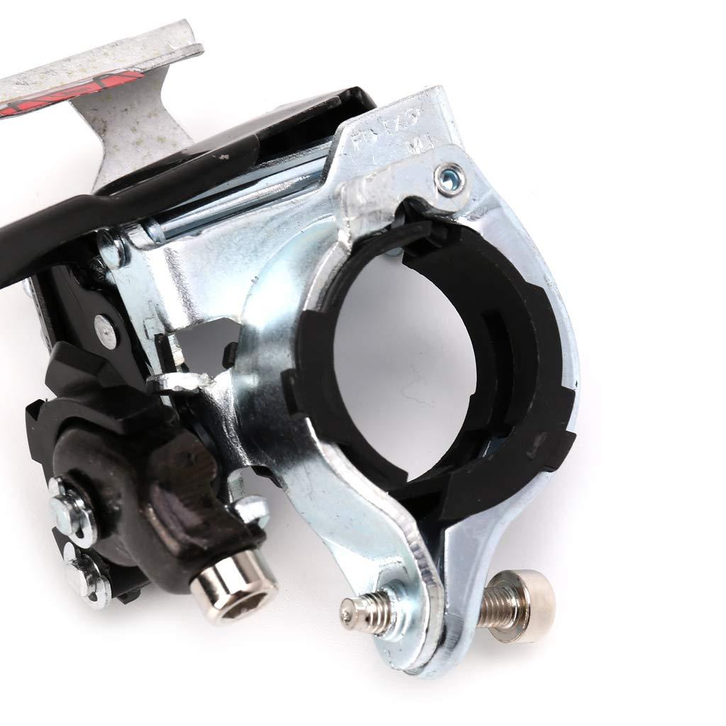 Bicicleta TX 50 Desviador Delantero 7//8 Desviadores para Bicicleta Plegable de Monta/ña