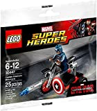 Marvel LEGO Captain America Civil War Captain Americas Motorcycle Mini Set 30447 [Bagged]