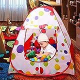 EocuSun Children Kids Play Tent Tents House Pop Up Outdoor Indoor Ball Pit Baby Beach Tent Playhouse w/ Zipper Storage Case for Boys Girls