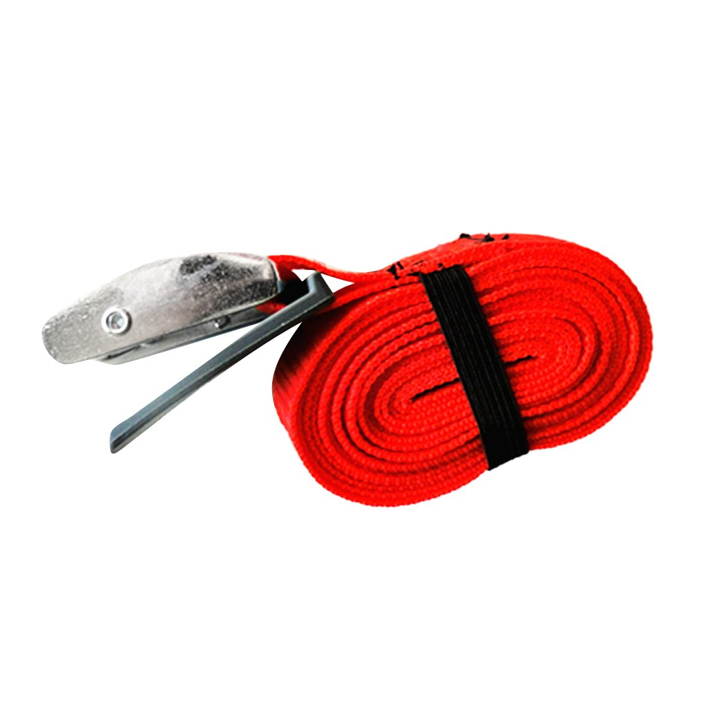 Sharplace Surfboard//Kayak//SUP Tie Down Strap Lashing Strap Cargo Tie-down Strap with PVC Padded Cam Lock Buckle