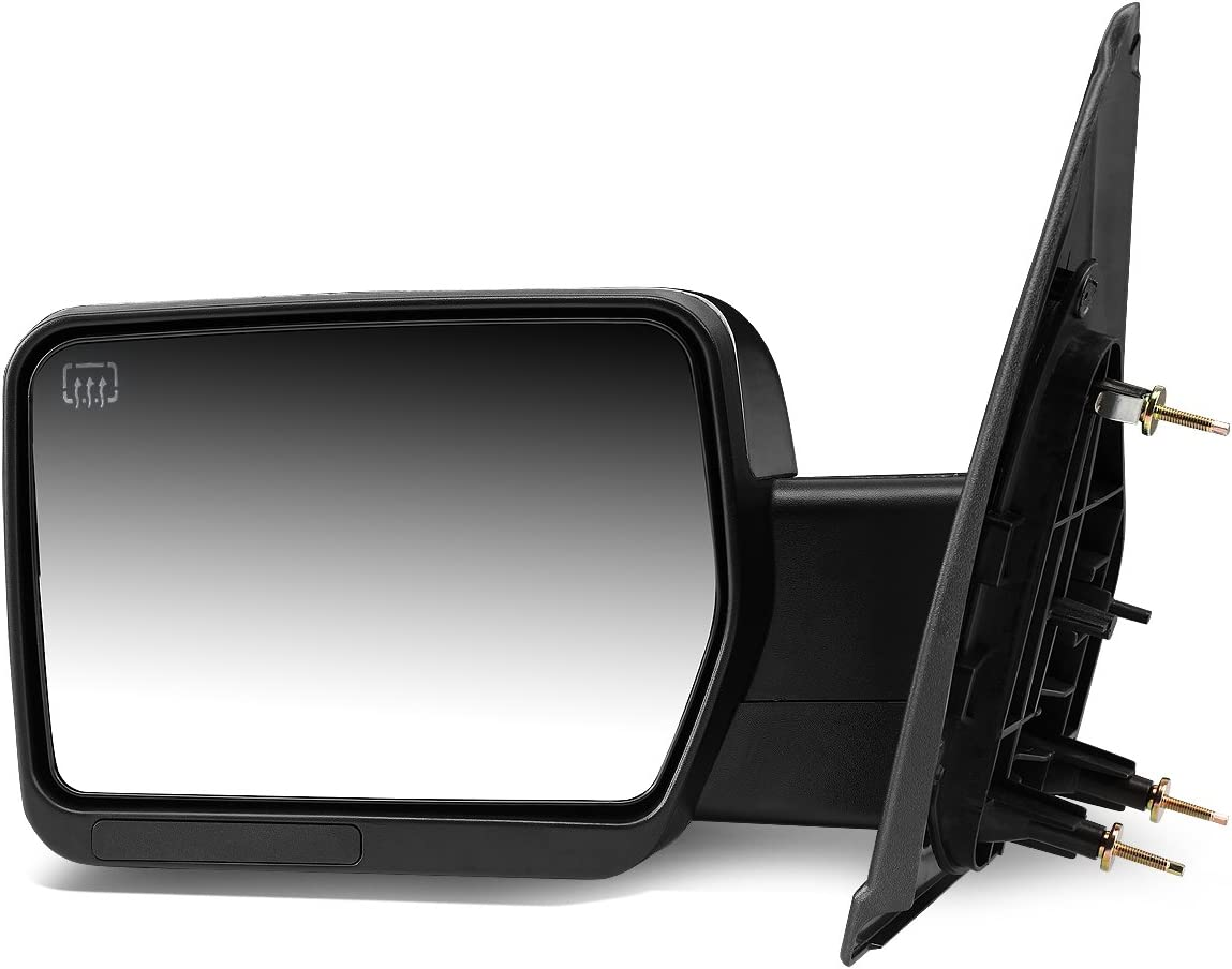 DNA Motoring TWM-019-T111-BK-L Towing Side Mirror Assembly Left Side Only