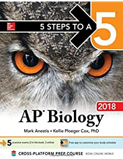 Amazon barrons ap biology 6th edition 9781438008684 5 steps to a 5 ap biology 2018 fandeluxe Choice Image