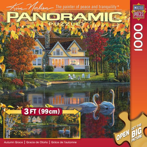 Master Pieces Autumn Grace Panoramic Jigsaw Puzzle