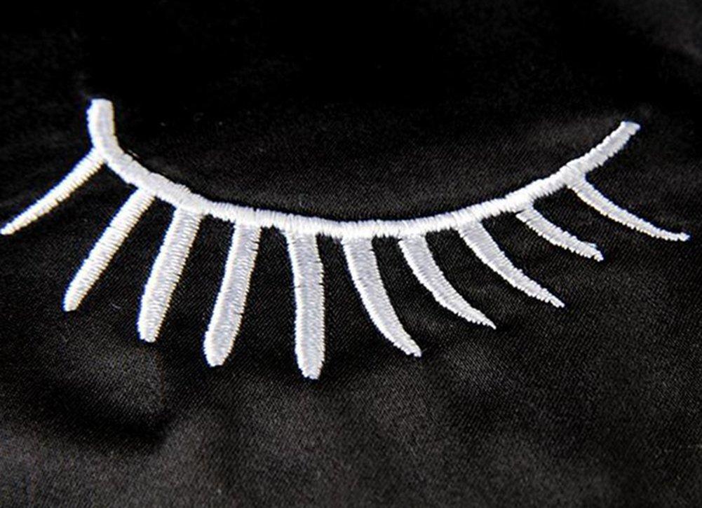 avec joli motif de cils Masque de sommeil confortable bloquant la lumi/ère de marque Lubier