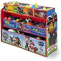 Nickelodeon Paw Patrol Deluxe Multi-Bin Toy Organizer