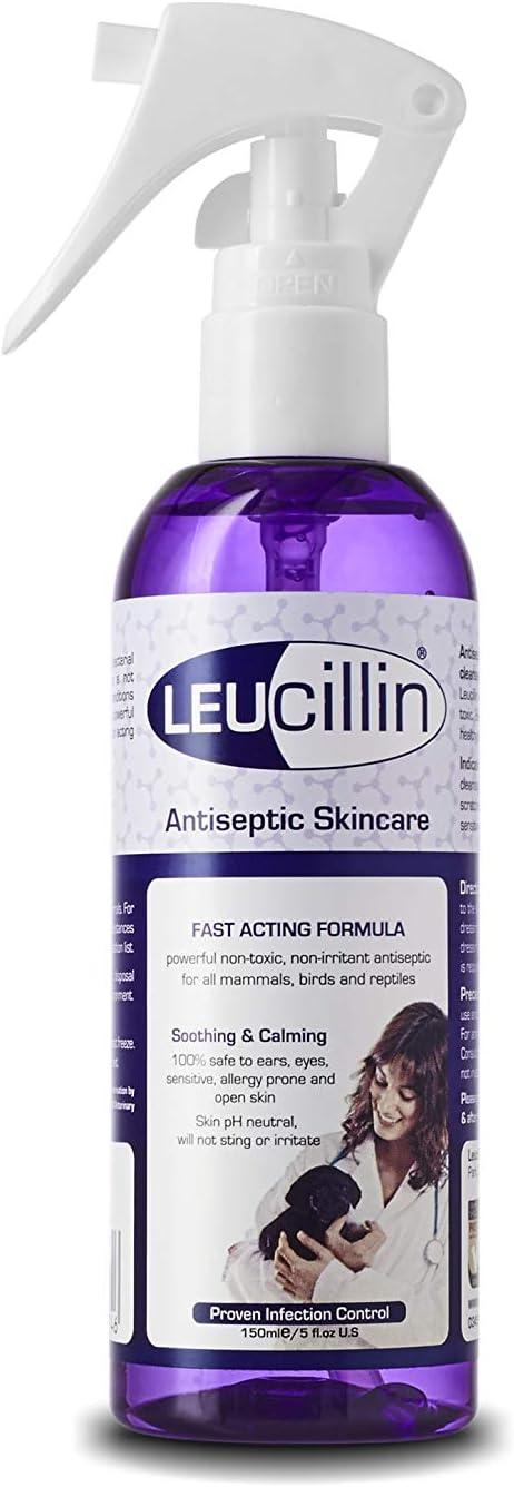 Lyvlee Ltd Spray antiséptico para el Cuidado de la Piel Leucillin, 150 ml, el Embalaje Puede Variar