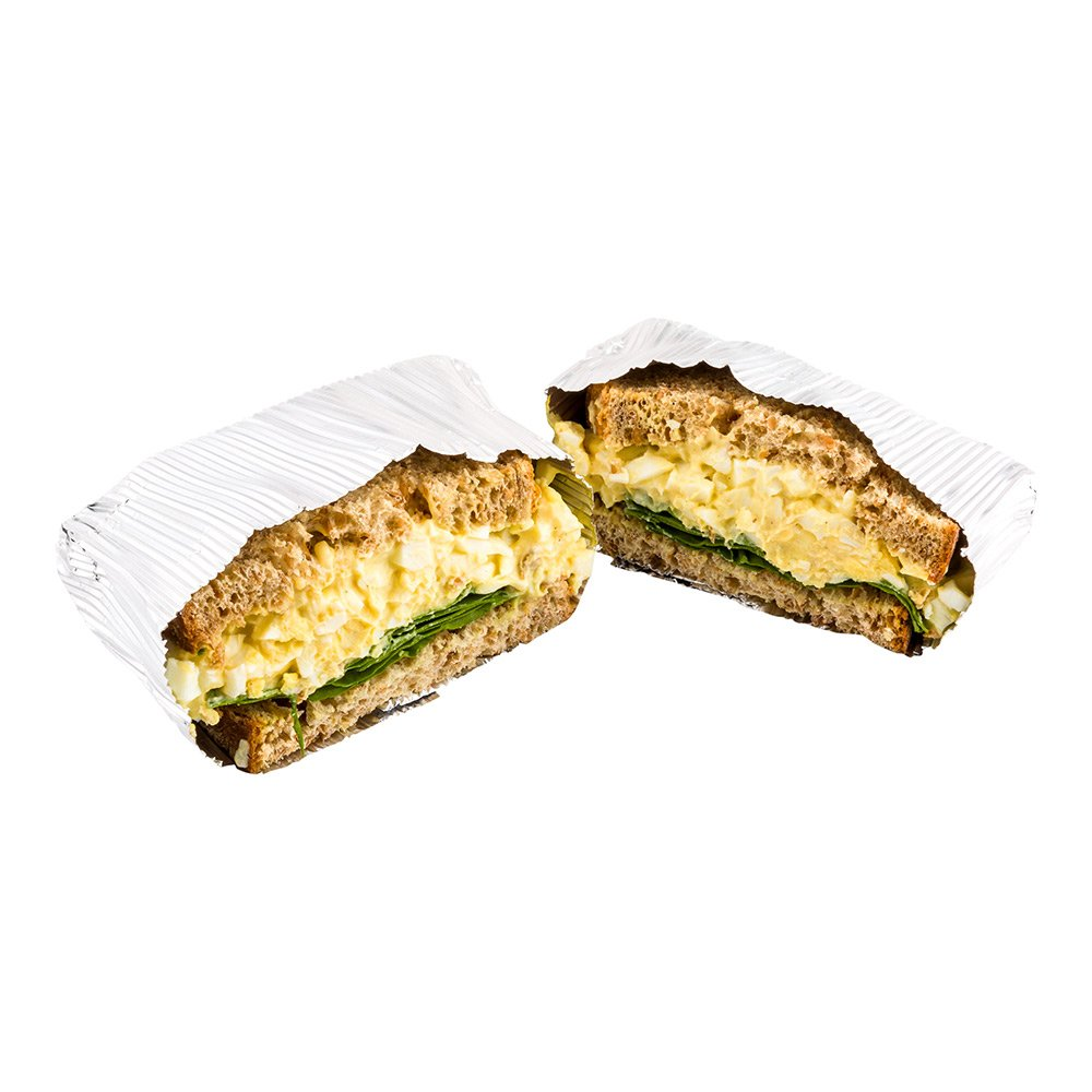 12'' x 12'' Rippled Aluminum Foil Food Wrap and Fry Basket Liner: Perfect for Restaurant Take Out, Bakeries, and Food Trucks - Silver Foil Sandwich Wraps - 500-CT - Restaurantware