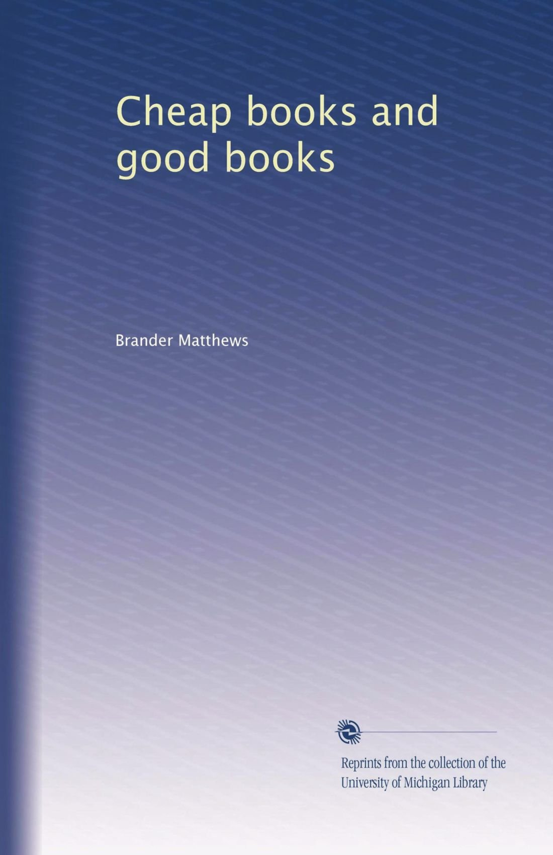 Download Cheap books and good books pdf epub