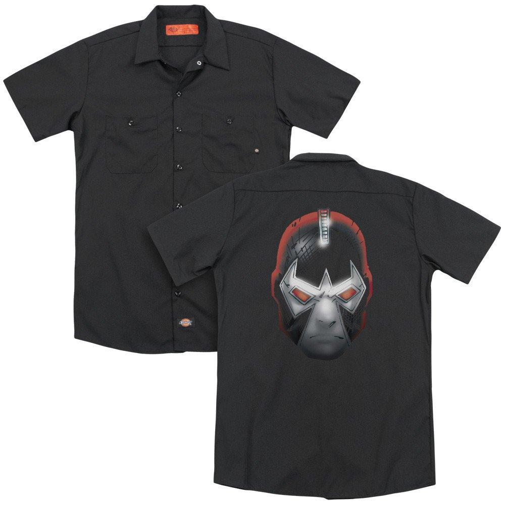 Batman Bane Head Adult Work Shirt