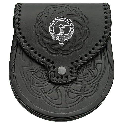 Cuthbert Scottish Clan Crest Badge Sporran