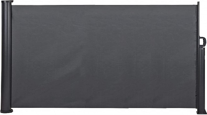 Fair-Shopping Balkonschutz-Markise Sicht-Schutz 300 cm Windschutz-Rollo Sonnenschutz Seitenmarkise D400