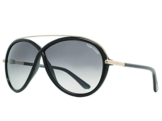 49cf6bf9df TOM FORD FT0454 TAMARA Sunglasses Color 01B at Amazon Men s Clothing ...