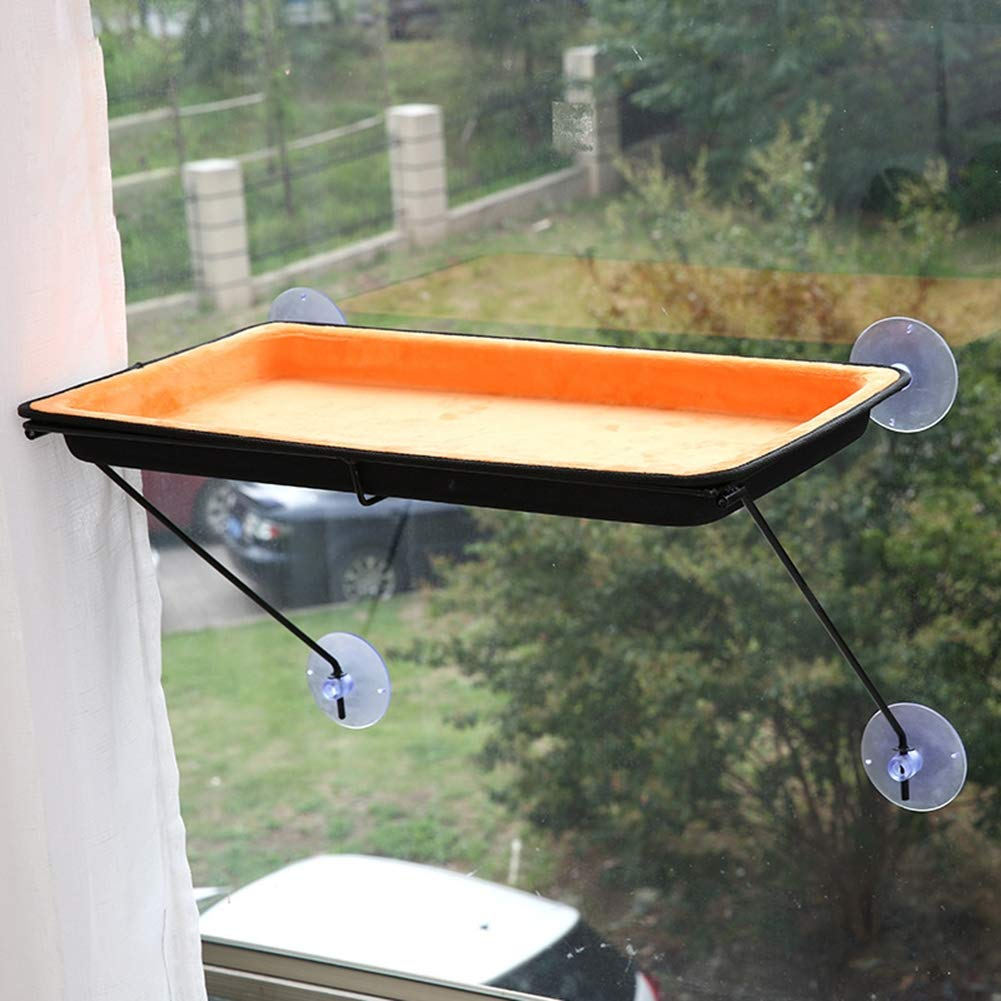 Cat Bed Window Perch Hammock Sunny Seat Tree Kitty Sill Resting Pet Products Condo Hanging Shelf Suction Cups Mounted Soft Space Saving Durable Ez Mount ...