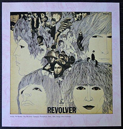 Revolver Album Cover - The Beatles - Revolver - Vintage Album Cover Poster