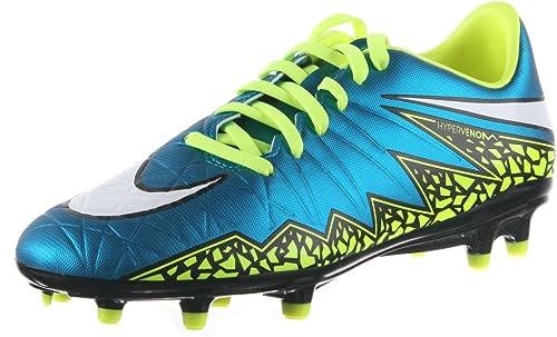 online retailer 70978 99b2a Nike Womens Hypervenom Phelon II FG - (BLUE LAGOONWHITE-VOLT-BLACK