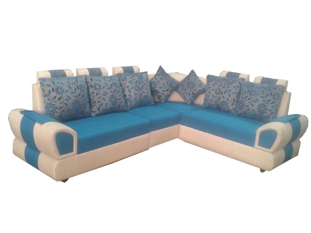 HI-Tech Class Model Five Seater L-Shaped Sofa Set 2+1+2 &1 Corner Seat:  Amazon.in: Home & Kitchen