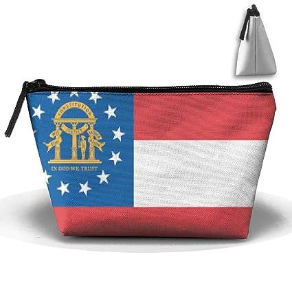 Bolsas de Maquillaje de Tela Oxford de Bandera de Georgia ...