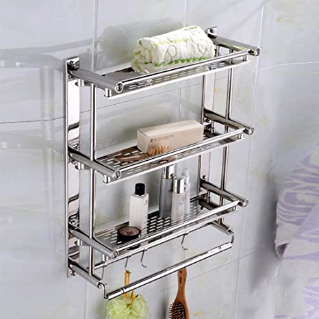 Bathroom Shelves Sus 304 Acero Inoxidable Organizador de ...