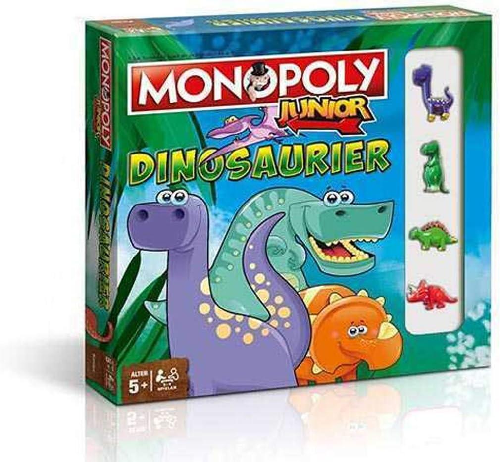 Winning Moves- Hasbro Monopoly Dinosauri, 34111: Amazon.es: Juguetes y juegos