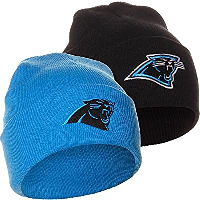 NFL Carolina Panthers Winter Knit Beanie Hat Cap