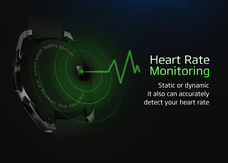 kajsao-g5 Smartwatch con cámara reloj de pulsera Bluetooth ...