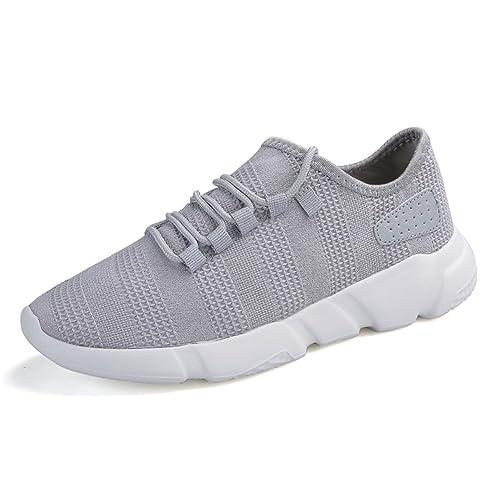 Madaleno Zapatos para Correr Running Ligero Respirable Deportes Zapatillas de Running Padel para Hombre: Amazon.es: Zapatos y complementos