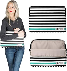 13.3 14 Inch Laptop Sleeve for Dell Inspiron 7300 7306 5400 5402 5406 7400, Latitude 3310 3410 5310 5320 5410 5411 5420 5420 7310 7320 7400 7410 7420 9410, Vostro 5301 3400 5401 5402 5490, XPS 9310