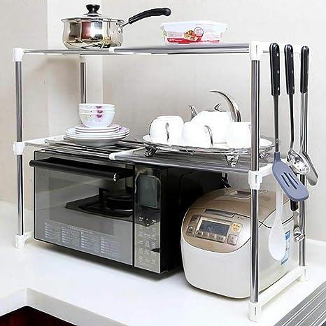 Acc Estante de Acero Inoxidable Ajustable para Cocina ...