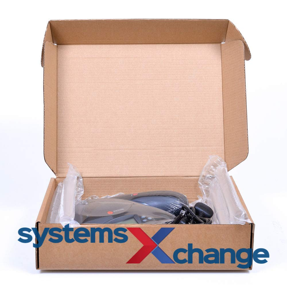 No Mics Renewed - 2200-16200-102 Polycom SoundStation 2 EX Audio Conference Phone