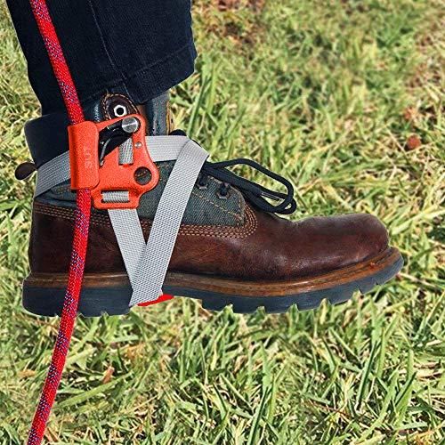 NewDoar Foot Ascender Climbing Rope Grab Arborist Tree Climbing Equipment Climbing Device