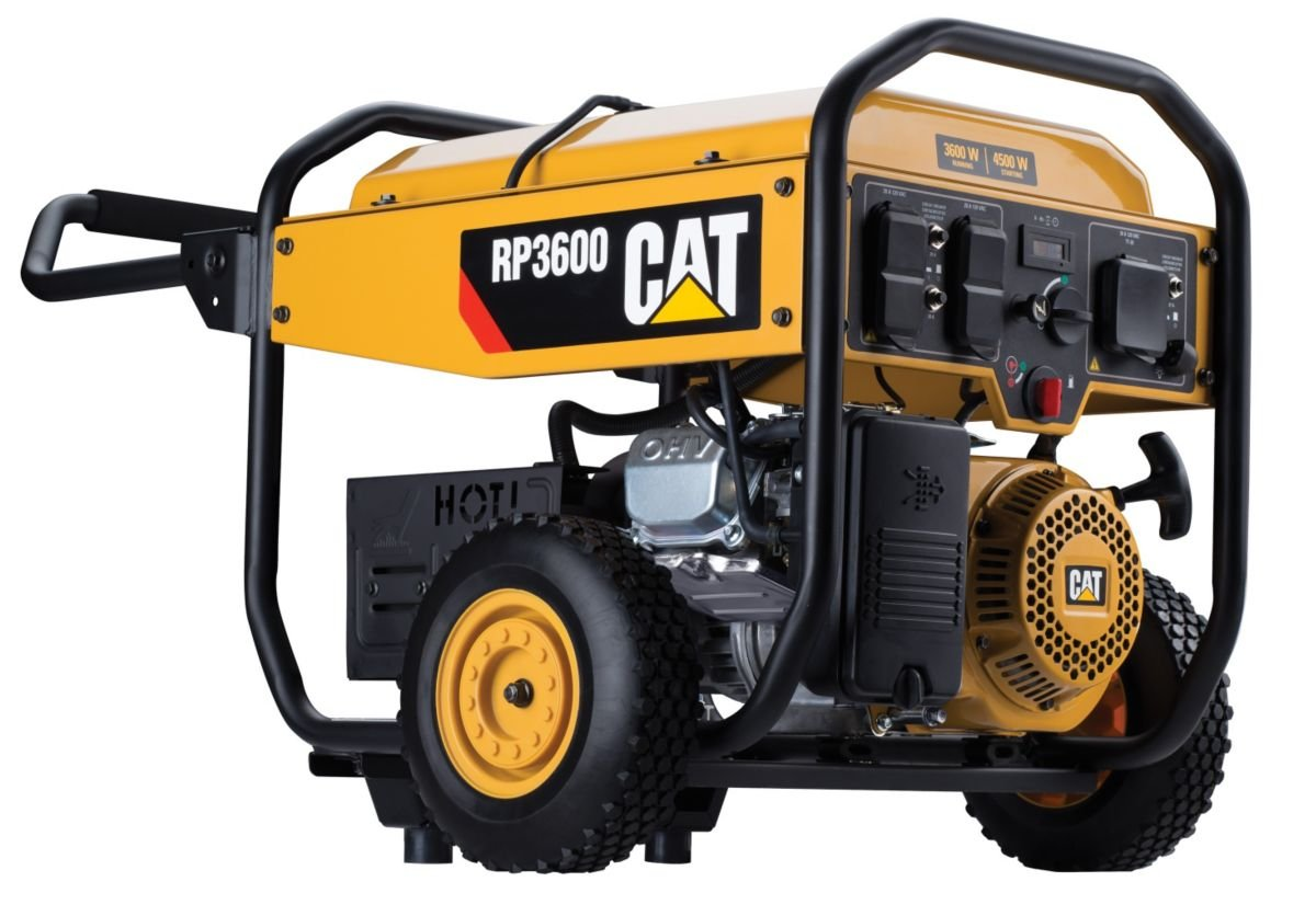 Cat Rp3600 3600 Running Watts 4500 Starting Gas Generator Avr Circuit Source Abuse Report Diesel Powered Portable 490 6488 Garden Outdoor