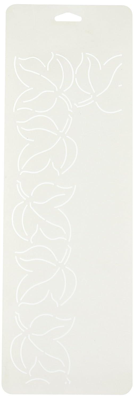 Sten Source Quilt Stencils by Bobbie Smith-3 Leaf 6X18