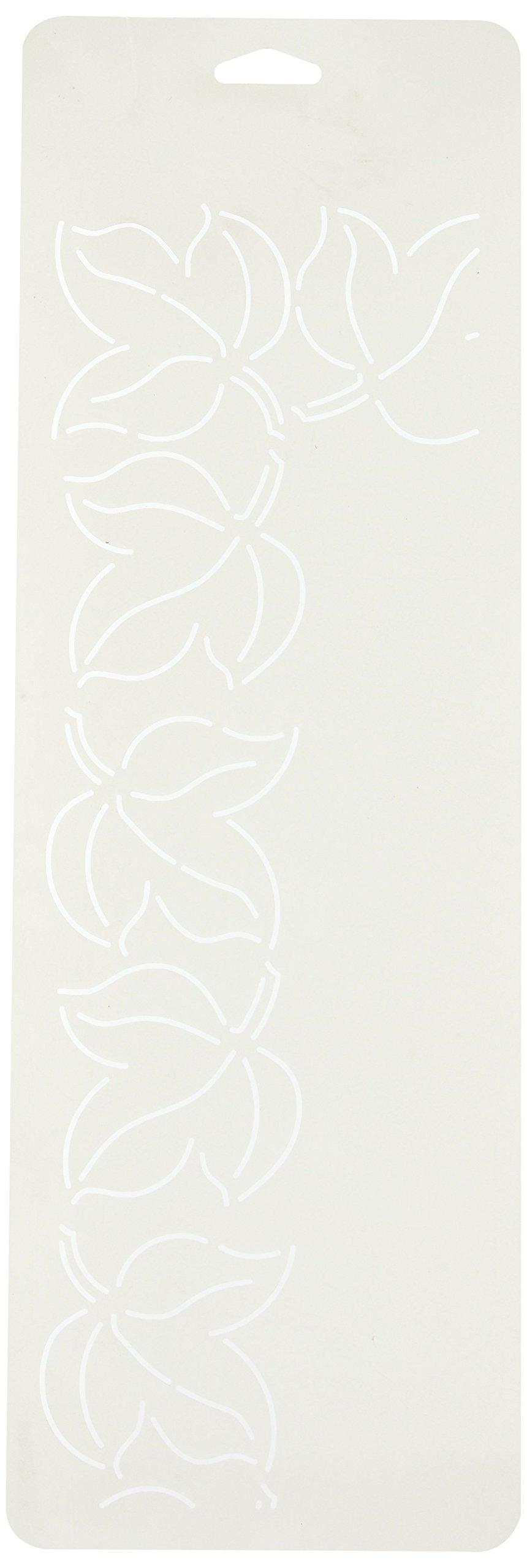 Sten Source Quilt Stencils by Bobbie Smith-3'' Leaf 6''X18'' by Sten Source