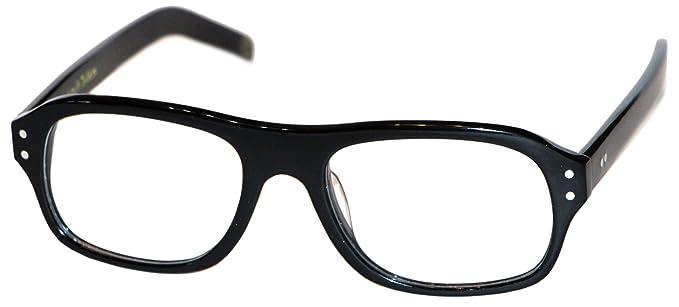 5c508fde33 Amazon.com  Magnoli Clothiers Kingsman Glasses (Black (Clear Lenses ...