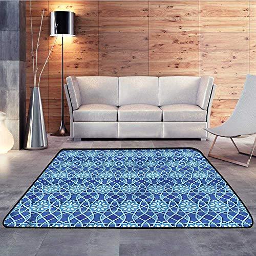 - Carpet Flooring,Arabian,Traditional Antique MotifW 71