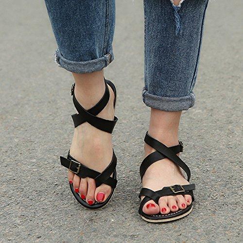 cool caviglia ladies' sandali bocca Ladies' three di pesce caviglia e con Forty sandali q8BIFwA
