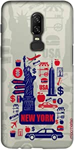 Macmerise City Of New York Sublime Case For Oneplus 6
