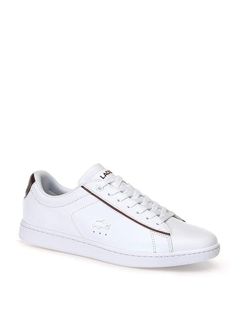 Zapatillas Lacoste Carnavy EVO 318 Blanco 39 5 Blanco: Amazon.es: Zapatos y complementos