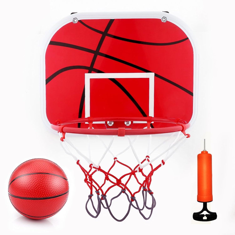 Wishtime バスケット ゴール セット 組み立て式 キッズ スポーツ 5才から 室外用 幼稚園 おもちゃ 誕生日プレゼントにおすすめ