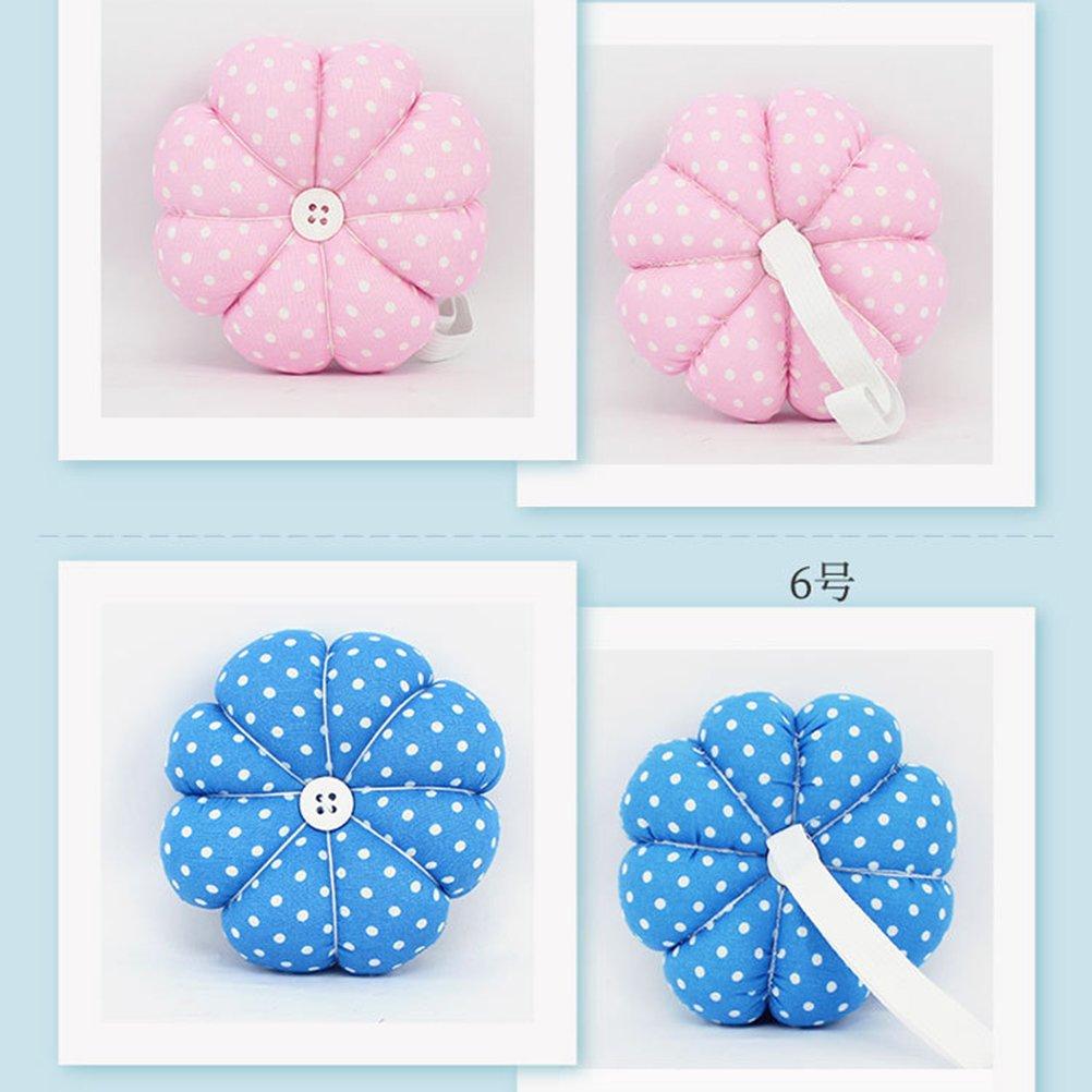 rosenice alfiletero calabaza Diseño Costura Pins Cojín para costura artesanía (5)