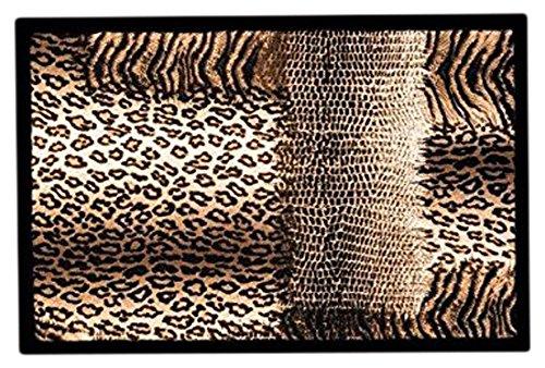 Achoka Welcome 108 Paillasson Polyester Imprimé 60 x 40 x 1 cm